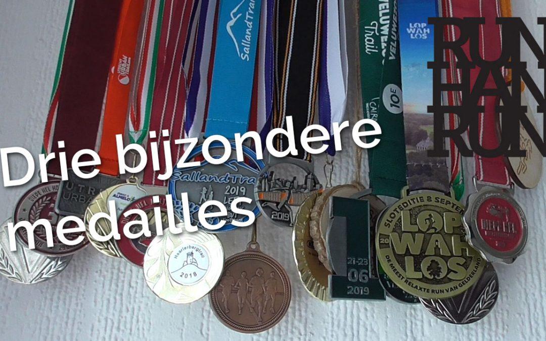 3 bijzondere medailles