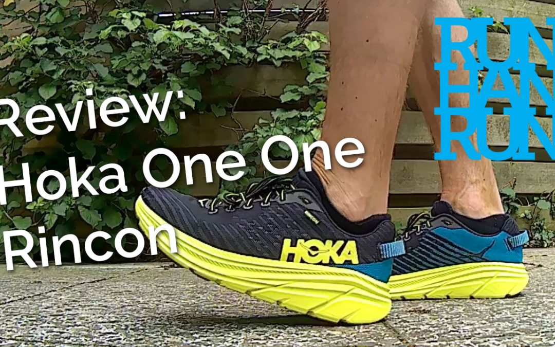 Review: Hoka One One Rincon – nieuwe schoentjes
